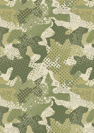 Camouflage urban green