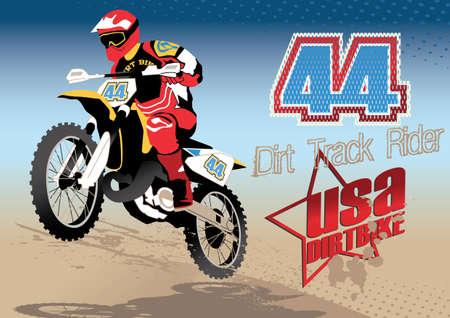 mococa: Dirt Track rider