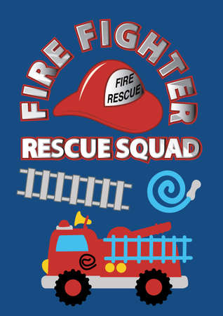 fire fighter: Fire fighter rescue squad