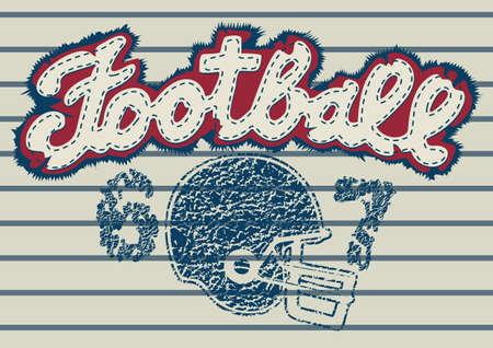 the varsity: Football embroidery