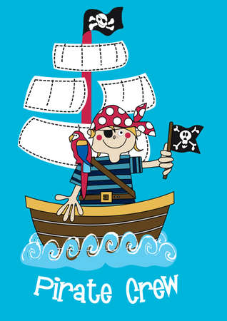 pirate crew: Pirate crew boy