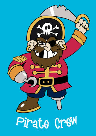 pirate crew: Pirate crew Captain