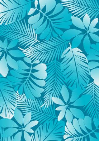 helechos: Aqua patrón Tropical