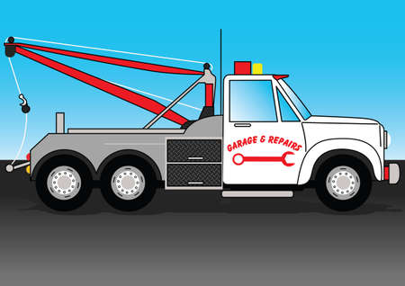 tow: Truck