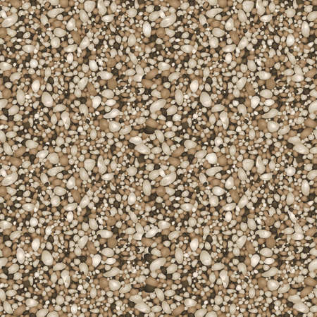 Sand texture in a seamless repeat pattern  Vector