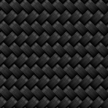 graphite: A carbon fiber seamless pattern design. Illustration