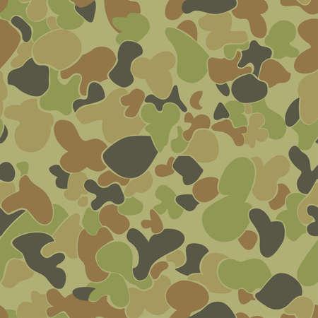 Auscam seamless pattern.