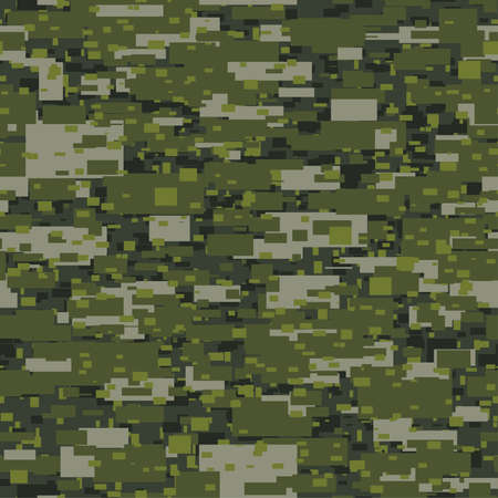 disruptive: Camouflage urban disruptive block khaki seamless pattern.