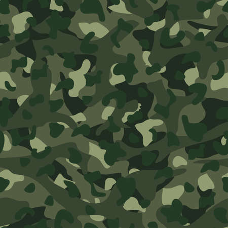 disruptive: Green mountain disruptive camouflage  seamless pattern . Illustration