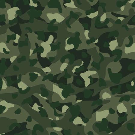 disruptive: Green mountain disruptive camouflage  seamless pattern . Illustration