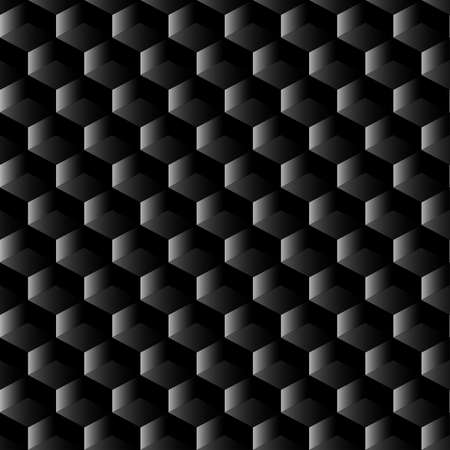 Black graphite mesh seamless pattern . Vector