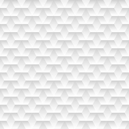 White embossed abstract design in a seamless pattern . Vector