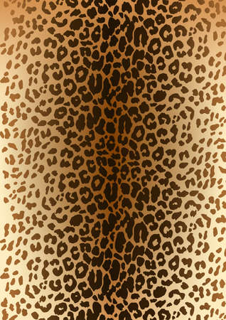 spotted fur: Leopard spotted fur pattern .