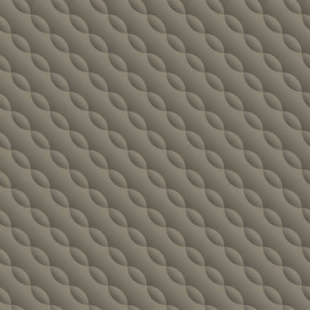 padding: Curved embossed twisted seamless pattern .