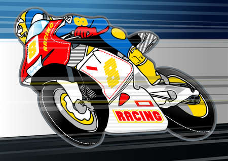 applique: Motorbike sports racing embroidery applique .