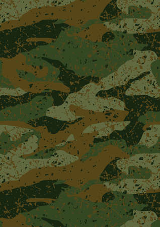 filthy: Khaki jungle mud camouflage repeat pattern .