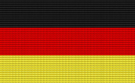digitizer: Germany flag embroidery design pattern .