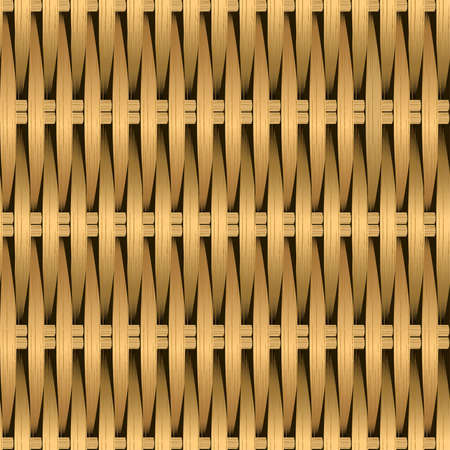 repeat pattern: Cane wicker woven fiber seamless pattern .