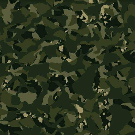 Camouflage outdoor disruptive khaki seamless pattern .