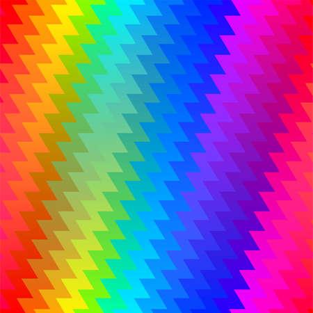 Vertical zigzag chevron rainbow seamless pattern .