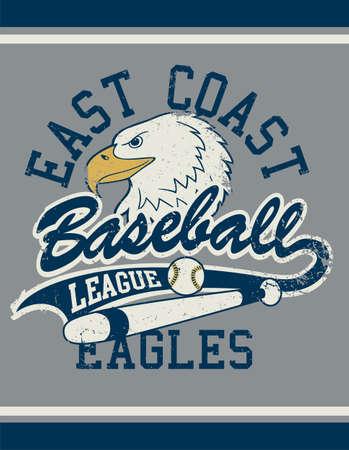 West Coast football league jersey poster . Иллюстрация
