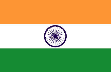 proportional: Bandera de India original