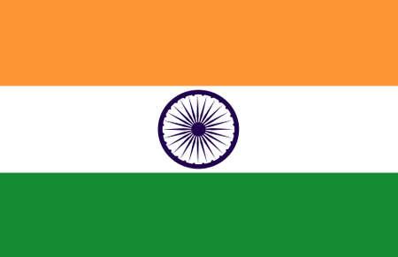 flag of india original Stock Photo