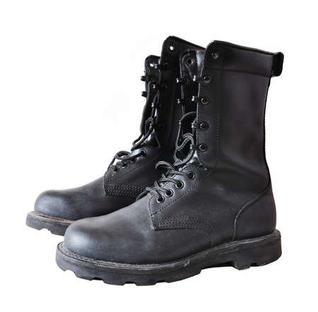 work boots: military boots