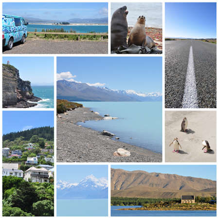 oamaru: New Zealand south island collage