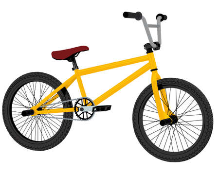 dirt bike: bmx bicycle