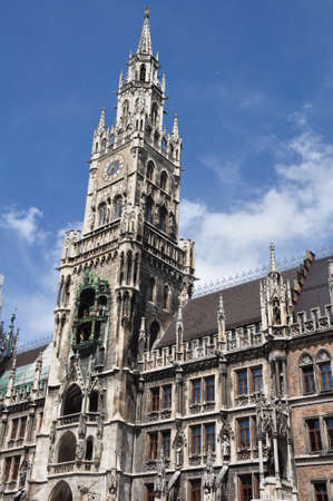 city hall in Munich, Germany photo