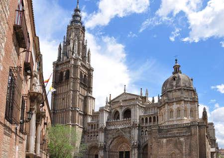 cathedral of Toledo, Spain Standard-Bild