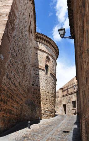 medieval streets of Toledo photo
