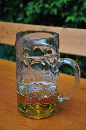 glass of german bavarian beer  photo