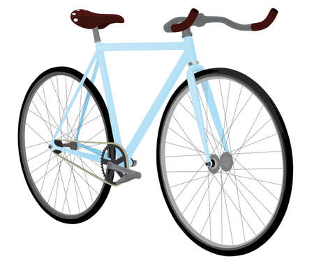 fixed gear bike Vector
