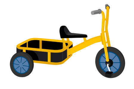driewieler: driewieler illustratie Stock Illustratie