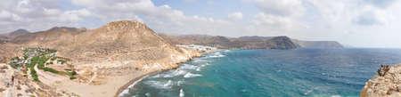 Cabo de Gata in Almeria coast, Spain