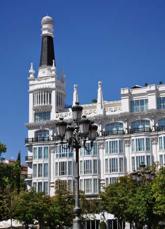 the place is important: architecture of downtown Madrid, Spain