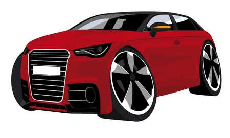 shiny car: cartoon auto
