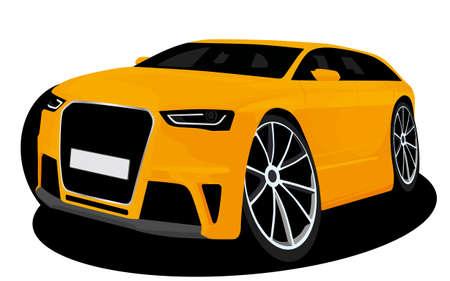 deportes caricatura: dibujos animados coche