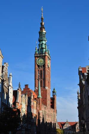 neptun: city hall in Gdansk - Poland