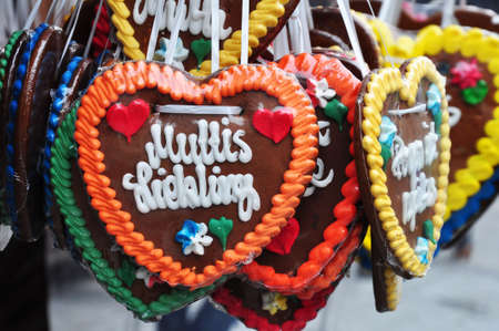 weihnachtsmarkt: german gingerbread