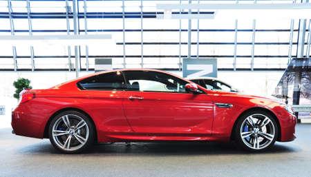 뮌헨, 뮌헨, 독일 2012년 12월 11일에 BMW 자동차 쇼에서 12월 11일 BMW M6 쿠페