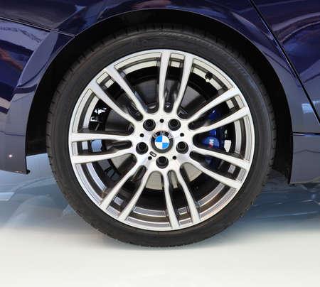 뮌헨, 뮌헨, 독일 2012년 12월 11일에 BMW 자동차 쇼에서 새로운 BMW 3 시리즈의 12월 11일 림