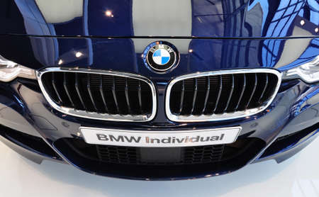 MUNICH, DECEMBER 11  new BMW 3 Series at BMW Car Show on December 11, 2012 in Munich, Germany