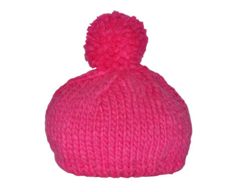 knitten: pretty pink winter hat