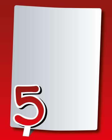 paper number - five Vector