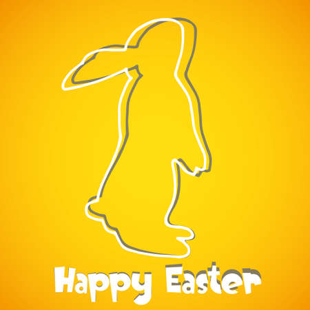 abstract Easter Bunny background Vector