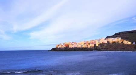 El Roque dorp op Gran Canaria, Canarische Eilanden, Spanje