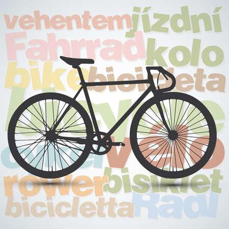 clavados: aislado bici